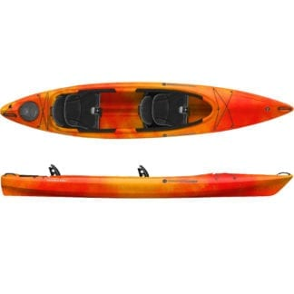Wilderness Systems Pamlico 135 T Mango Orange Zweierkajak