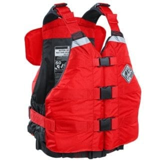 Palm Rafter 120 Schwimmweste rot front 12281