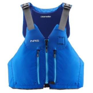 NRS Clearwater Schwimmweste blau front