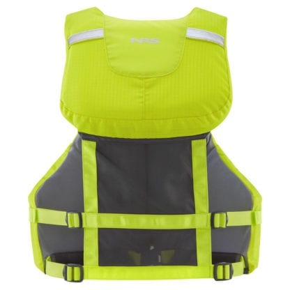 NRS cVest Schwimmweste lime back