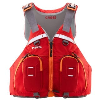 NRS cVest Schwimmweste rot front