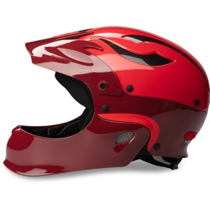 Sweet Rocker FullFace Helm Earth Red Scorch Red Seite 2