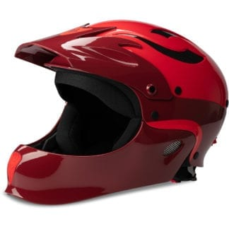 Sweet Rocker FullFace Helm Earth Red Scorch Red Seite