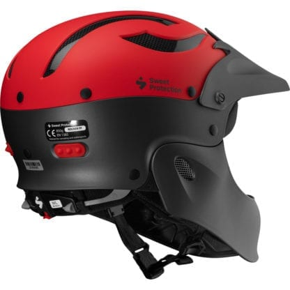 Sweet Rocker Fullface Helm Matte Fiery Red Metallic