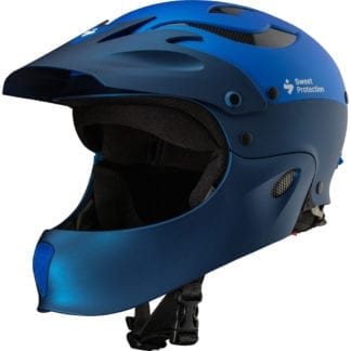 Sweet Rocker Fullface Helm Matte Race Blue Metallic